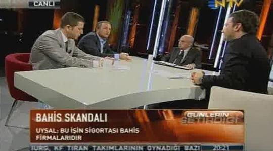 Dünyayı Sarsan Bahis Şikesi NTV'de tartışıldı. (Video)