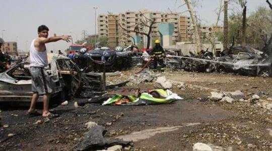 Bağdat'a beş bombalı saldırı yapıldı