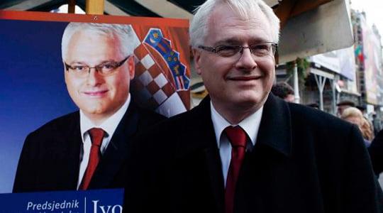 Hırvatistan'ın yeni Cumhurbaşkanı Ivo Josipoviç