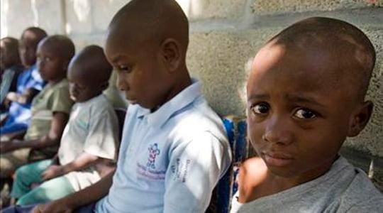 Haiti'deki çocuk tacirleri yakalandı
