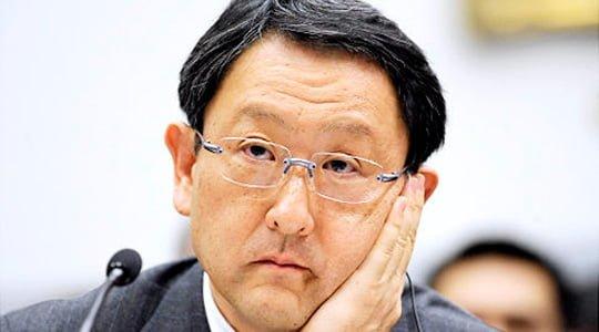 Toyota patronu Akio Toyoda özür diledi