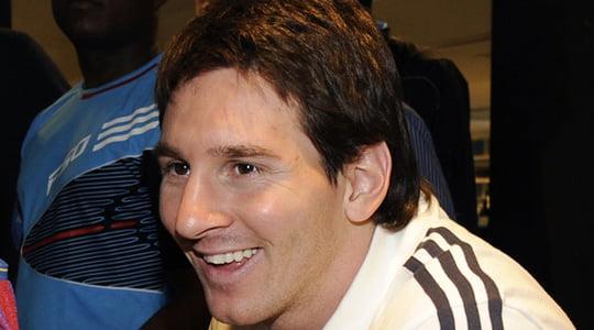 Lionel Messi ve . . .