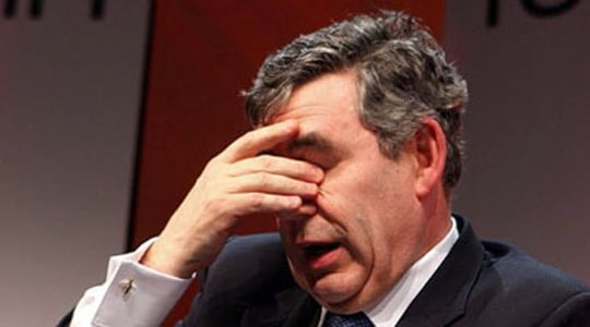 Gordon Brown'dan seçim öncesi büyük gaf