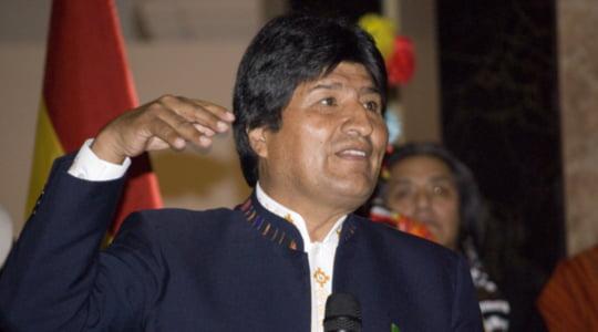 Evo Morales Avrupa turuna başlıyor