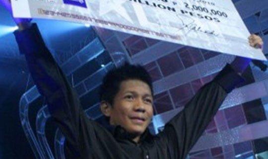 Filipinler Yetenek Sizsiniz birincisi: Jovit Baldovino