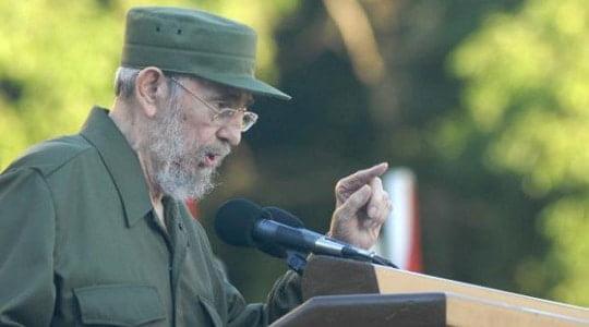 Fidel Castro adil barışı savunduğunu vurguladı