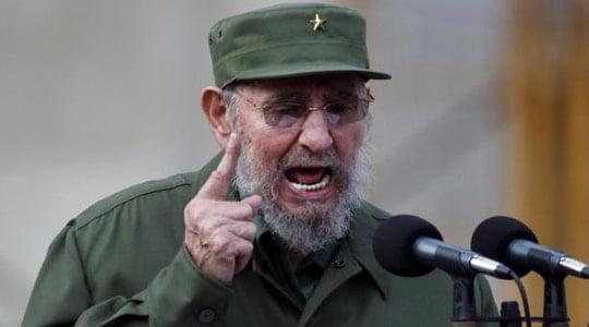 Fidel Castro: Bir savaşa neden olabilecek tek ülke Amerika