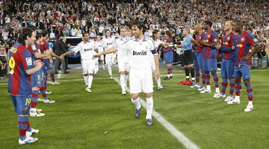 El Clasico, Onlar ve Messi !