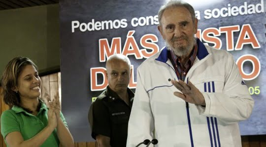 Kübalı Öğrenciler Fidel Castro'ya, Fidel Castro onlara sordu!