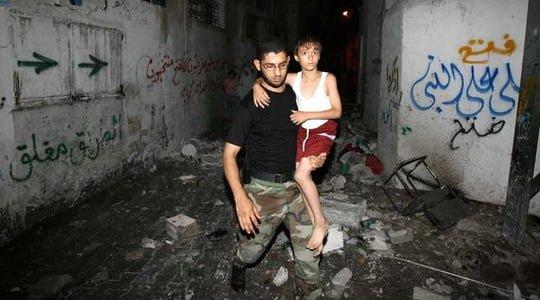 İsrail uçakları Gazze'yi vuruyor...