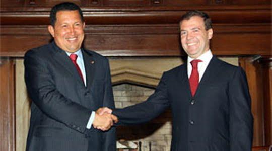 Serguei Shmatko Hugo Chavez Rusia