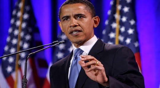 'Başkan' Obama'nın konuşması