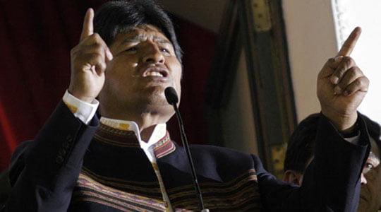 Bir Portre, Evo Morales