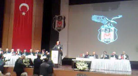 Yıldırım Demirören Beşiktaş Mali Kongresi