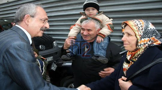 Kemal Kılıçdaroğlu'na vatandaştan şok soru !!!