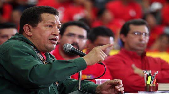 Chavez Obama'dan teröristlerin iadesini istiyor !