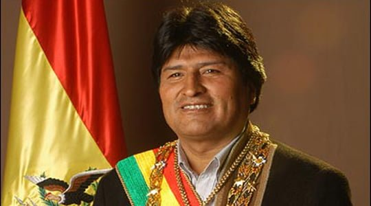 Ve Morales açlık grevinde !