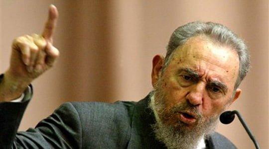 Fidel Castro : Barbara Lee ve Siyahlar Grubu'nun diğer üyeleri ile buluşmam