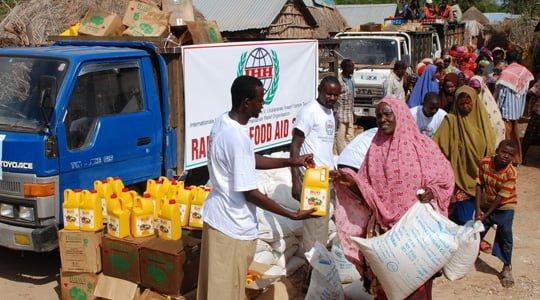 Somali'ye gıda yardımı durdu