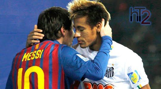 Neymar Messi HT2