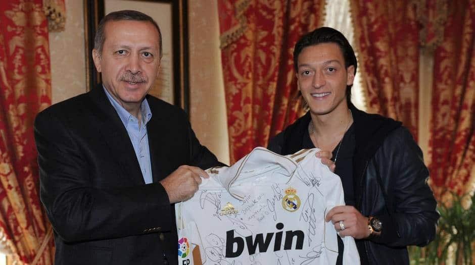 Başkan Erdoğan, Mesut Özil, Real Madrid, DFB