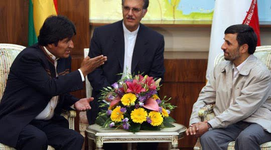 Photo of Evo Morales and Ahmadinejad for Stronger Iran-Bolivia Relations