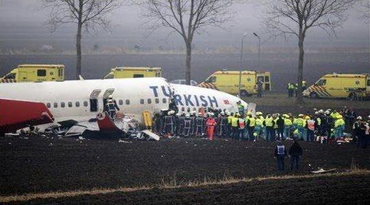 THY Uçak Kazası