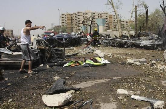 Photo of Bağdat'a beş bombalı saldırı yapıldı