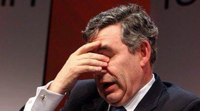 Photo of Gordon Brown'dan seçim öncesi büyük gaf