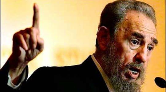 """Photo of Fidel Castro, """"İran, İsrail'in tehditlerine boyun eğmeyecek"""""""