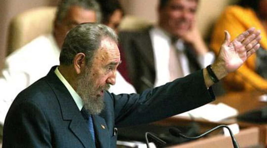 "Photo of Fidel Castro ""Pusudaki Tehlike"""