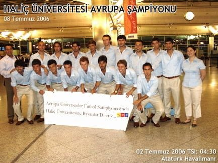 Photo of Haliç Üniversitesi Futbolda Avrupa Şampiyonu oldu