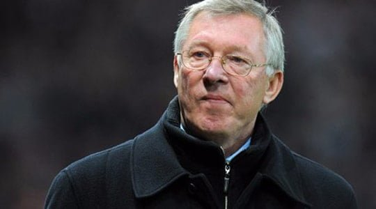 Teşekkürler Sir Alex Ferguson