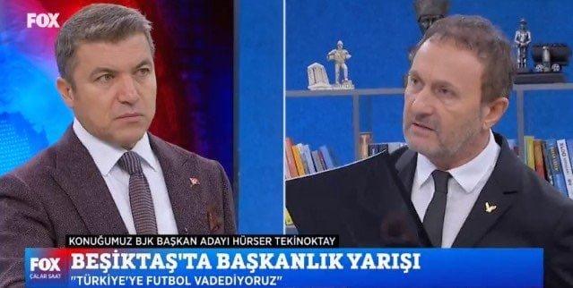 İsmail Küçükkaya Beşiktaş Başkanlık Seçim Kampanyası Fox Haber